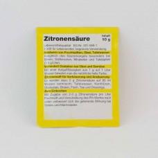 Zitronensäure 10 g