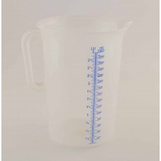Messbecher Kunststoff 3 Liter