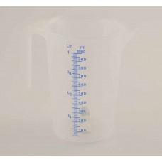 Messbecher Kunststoff 1 Liter
