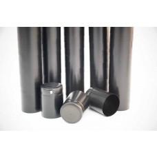 Thermo-Schrumpfkapseln Schwarz 33x45 mm / VPE 100st
