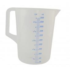Messbecher Kunststoff 5 Liter